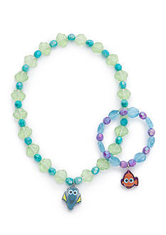 Finding Dory Beaded Necklace and Bracelet Set