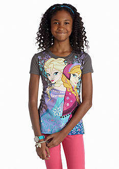 Disney® Frozen Anna and Elsa Tee Girls 7-16