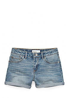 Roxy Girls™ Blue Crush Rolled Cuff Shorts Girls 7-16
