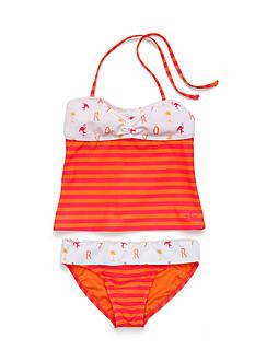 Roxy Girls™ 2-Piece Flamingo Beach Tankini Girls 7-16