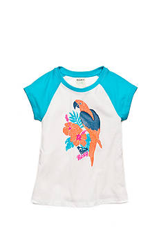 Roxy Girls™ Parrot Printed Baseball Top Girls 7-16