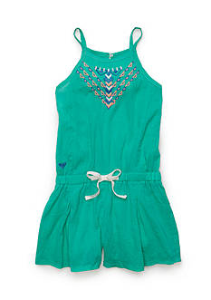 Roxy Girls™ Summer Rain Embroidered Romper Girls 7-16