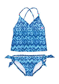 Roxy Girls™ 2-Piece Summer Escape Tankini Girls 7-16