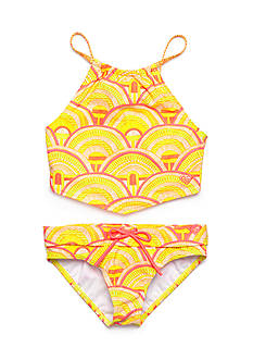 Roxy Girls™ 2-Piece Sunrise Summer Bandana Tankini Girls 7-16