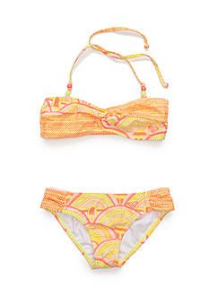 Roxy Girls™ 2-Piece Sunrise Summer Bandeau Bikini Girls 7-16