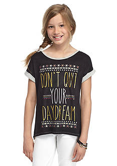 tempted™ 'Don't Quit Your Daydream' High Low Top Girls 7-16