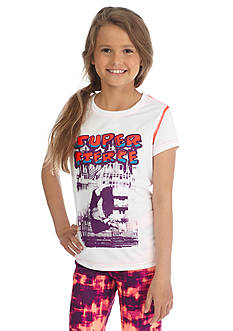 JK Tech™ 'Super Fierce' Graphic Tee Girls 7-16