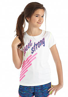 JK Tech™ 'Sweet and Strong' Tee Girls 7-16