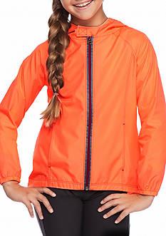 JK Tech™ Bright Colors Hooded Raincoat Girls 7-16