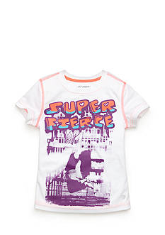 JK Tech™ 'Super Fierce' Graphic Tee Girls 4-6x