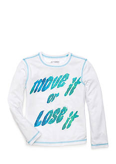 JK Tech™ 'Move It Or Lose It' Top Girls 4-6x