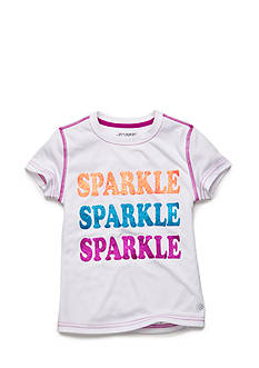 JK Tech™ 'Sparkle Sparkle Sparkle' Tee Girls 4-6x
