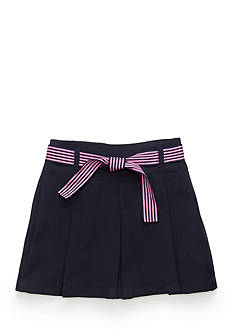 Nautica Uniform Pleat Scooter With Bow Girls 4-6x