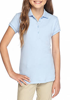 Nautica Uniform Polo Shirt Girls 7-16