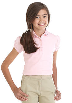 Nautica Uniform Bling Polo Shirt Girls 7-16