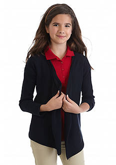 Nautica Uniform Wrap Sweater Girls 7-16