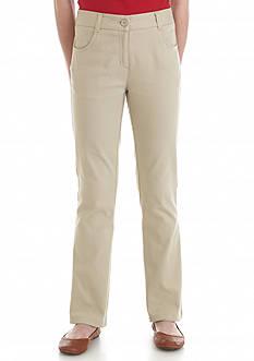 Nautica Uniform Slim Pants Girls 7-16