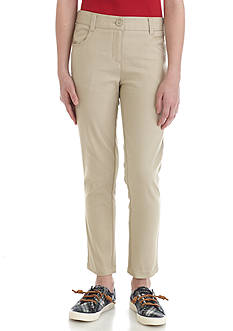 Nautica Uniform Ankle Biter Pants Girls 7-16