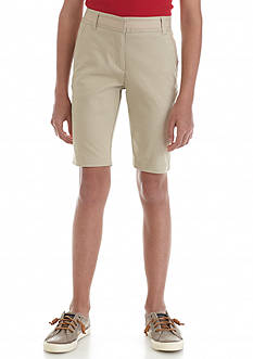 Nautica Uniform Bermuda Shorts Girls 7-16