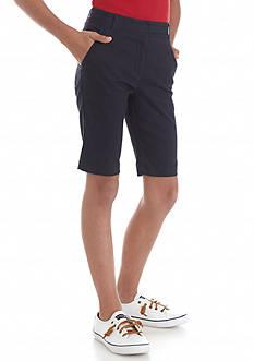 Nautica Uniform Bermuda Shorts Girls 7-16
