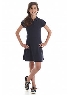 Nautica Uniform Polo Dress Girls 7-16