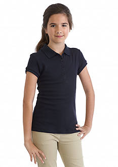 Nautica Uniform Polo Shirt Girls Plus