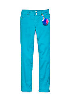 TINSEY Colored Skinny Jean Pant with Tassel Girls 7-16