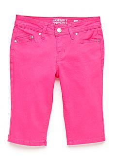 CELEBRITY PINK GIRLS 5 Pocket Crop Pants Girls 7-16