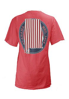 Royce Brand Alabama Stars & Bars Tee Girls 7-16