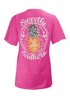 Royce Brand Pineapple Southern Tee Girls 7-16