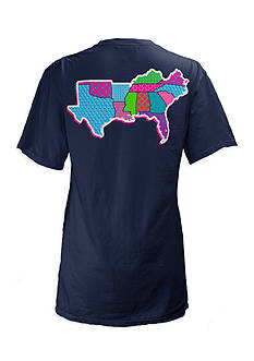 Royce Brand Southern Patchwork Tee Girls 7-16