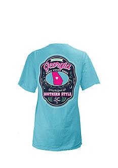Royce Brand Georgia State Crest Tee Girls 7-16
