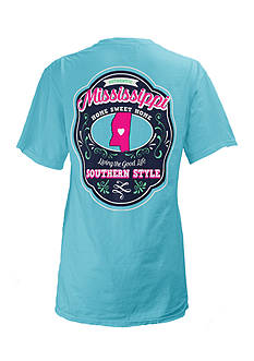 Royce Brand Mississippi State Crest Tee Girls 7-16