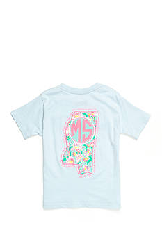 Royce Brand Mississippi State Floral Preppy Tee Girls 7-16