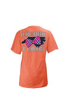 Royce Brand North Carolina State Preppy Plaid Tee Girls 7-16