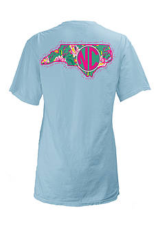 Royce Brand North Carolina State Floral Preppy Tee Girls 7-16