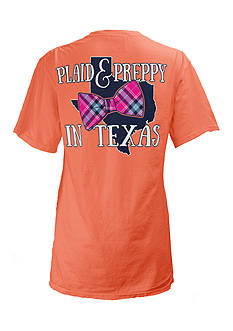 Royce Brand Texas State Preppy Plaid Tee Girls 7-16