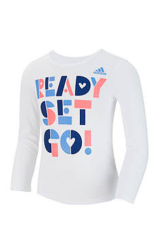 adidas Graphic Tee Girls 4-6x