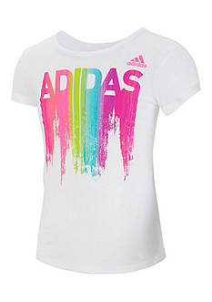 adidas Above The Curve Top Girls 4-6x