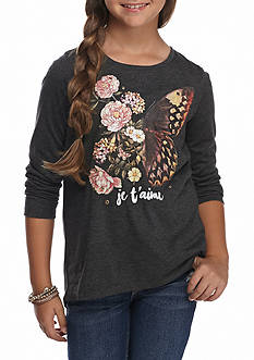 Jessica Simpson Butterfly Top Girls 7-16