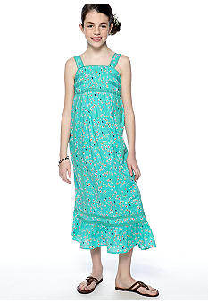 Jessica Simpson Sanibel Maxi Dress Girls 7-16