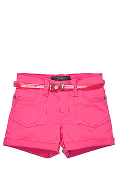 Jessica Simpson Belted Super Star Color Short Girls 4-6x