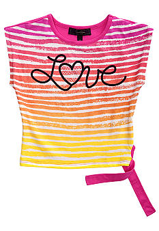 Jessica Simpson Pop Star Love Tee Girls 4-6x