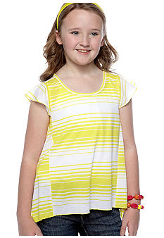 Jessica Simpson Boca Stripe Top Girls 7-16