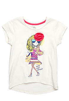 Jessica Simpson Out and About Tee Girls 4-6x