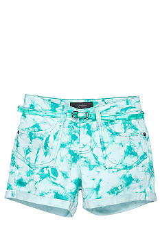 Jessica Simpson Tye Dye Super Star Short Girls 7-16