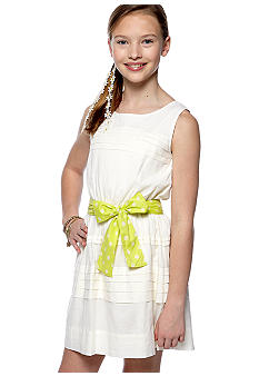 Jessica Simpson Chios Tiered Dress Girls 7-16