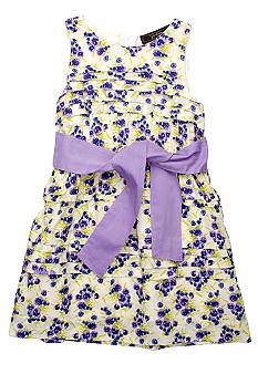 Jessica Simpson Chios Floral Diva Dress Girls 4-6x