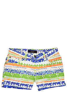 Jessica Simpson Printed Shorts Girls 7-16