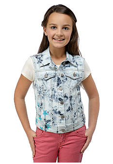 Jessica Simpson Shadow Sleeveless Vest Girls 7-16